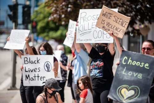 BLM Protest June 4 (c) Kristal Burgess
